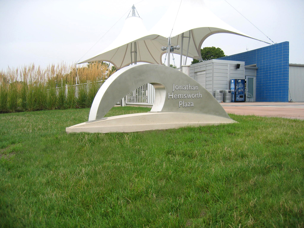 Outdoor Donor Recognition Sculpture