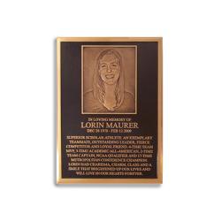 Portrait Cast Bronze
