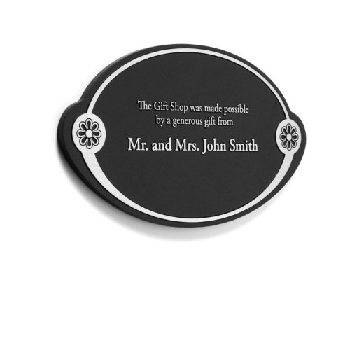 Memorial Plaque - Etched Donor Plaque