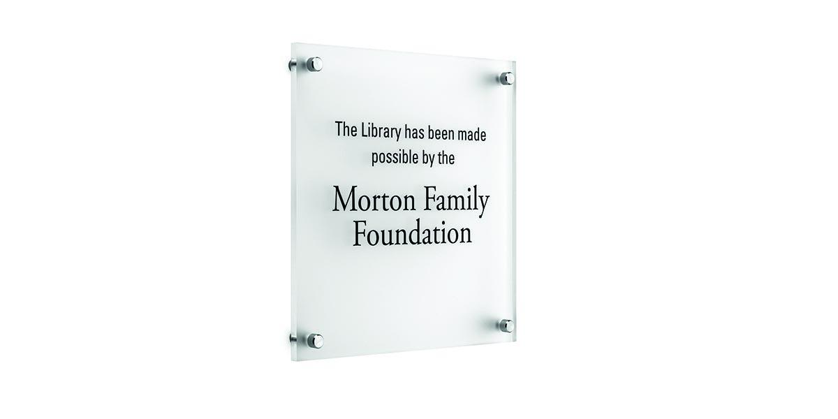 donor plaque